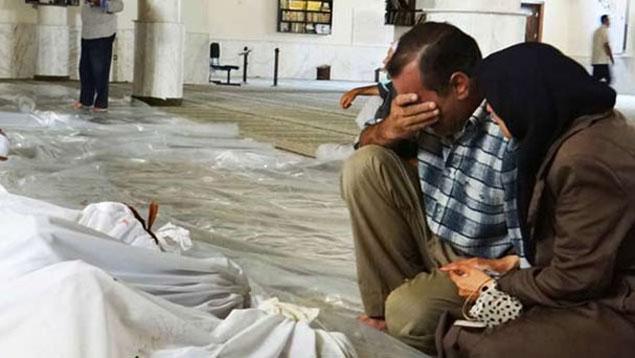Activistas sirios denuncian presunto uso de arma química