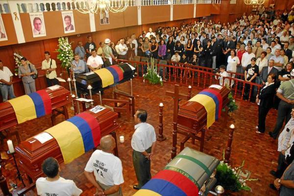 35 años de prisión por secuestro y homicidio de diputados del Valle del Cauca
