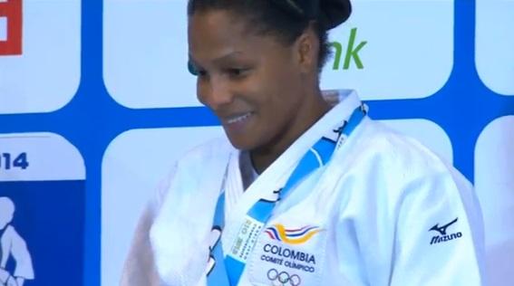 Yuri Alvear logra oro en el Campeonato Mundial de Judo 2013