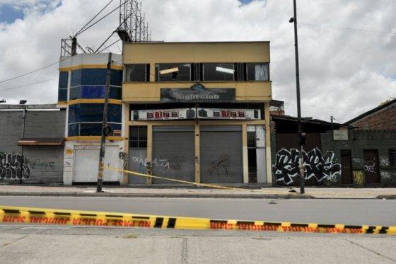 Tragedia en bar de Bogotá