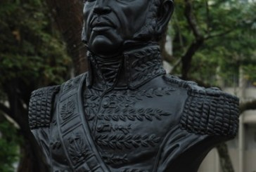 Busto de Petión engalana el bulevar de la Av. Colombia