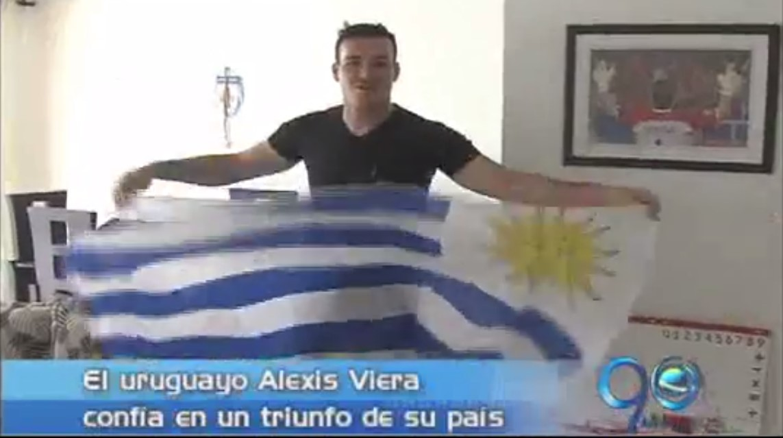 El arquero Alexis Viera confía en el triunfo de Uruguay
