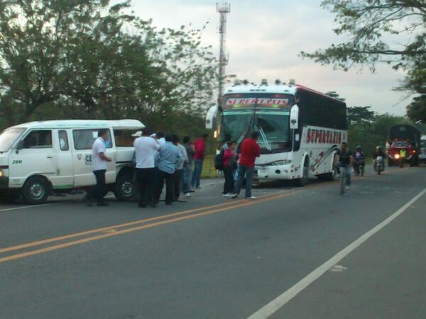 Accidente de transporte escolar en vía Cali – Jamundí