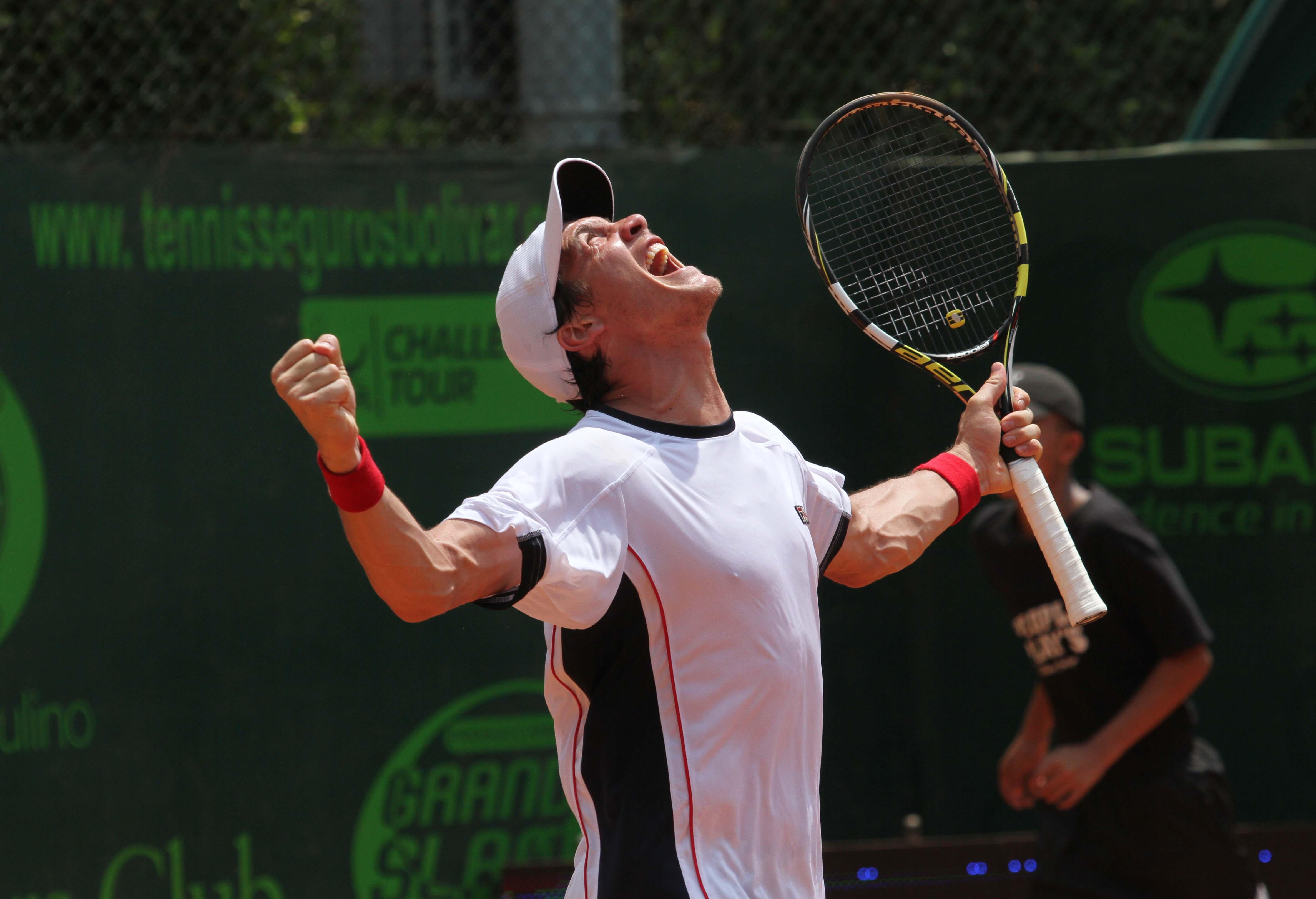 El argentino Facundo Bagnis, consiguió el título del Seguros Bolívar Open