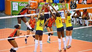 La selección Colombia de voleibol perdió ante Perú en el Suramericano Femenino Mayores