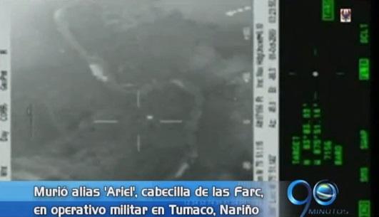 Abatido cabecilla de las Farc en Tumaco, Nariño