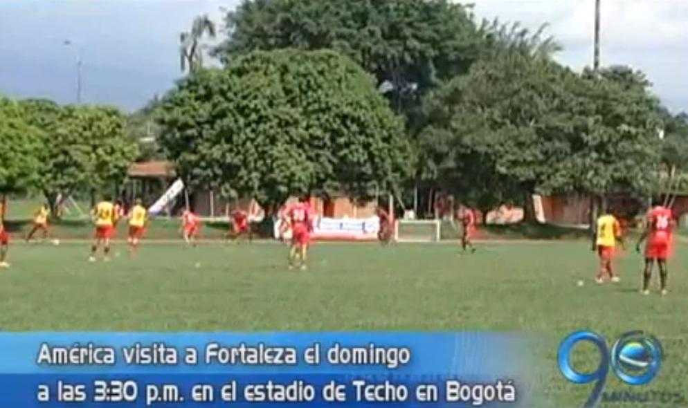 América visita al equipo Fortaleza en el Torneo de Ascenso