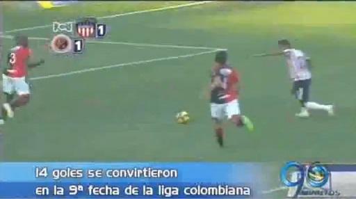 Balance de la novena fecha de la liga colombiana de fútbol