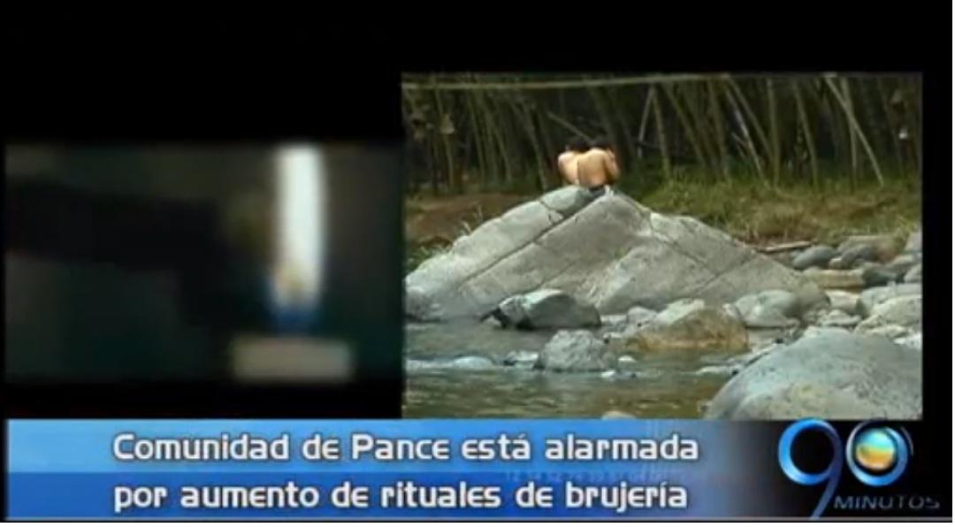 Rituales de brujería amenazan contaminación del río Pance