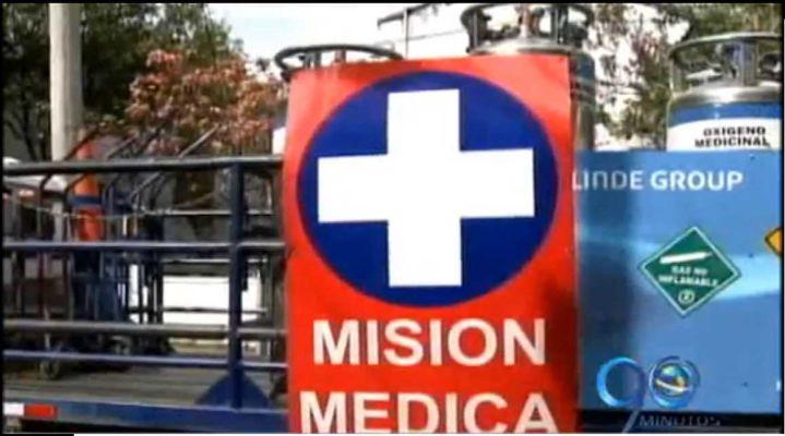 Partió caravana humanitaria de la Cruz Roja hacia Nariño
