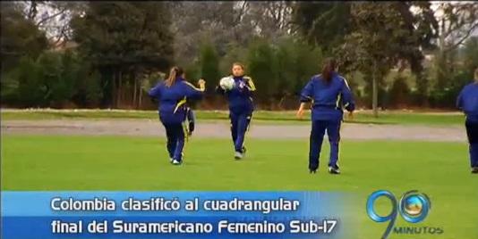 Colombia clasificó a cuadrangular final de Suramericano femenino Sub 17