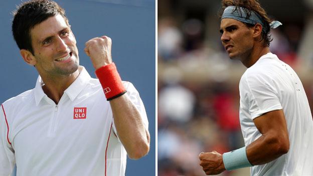 Djokovic y Nadal quieren ser coronados como reyes en el US Open 2013