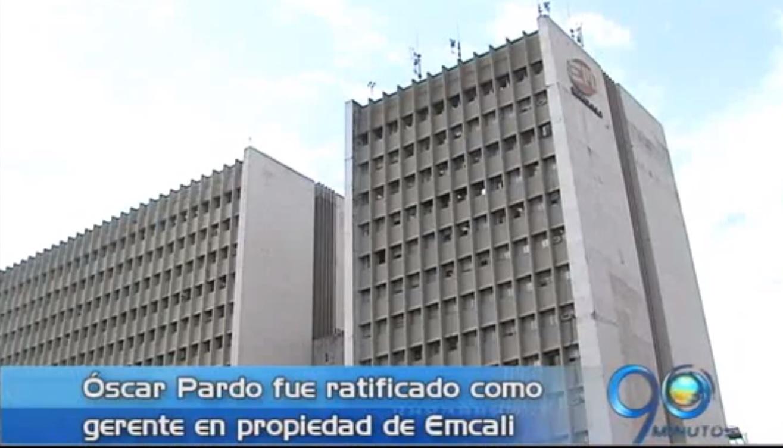 Óscar Pardo fue ratificado en la gerencia de Emcali