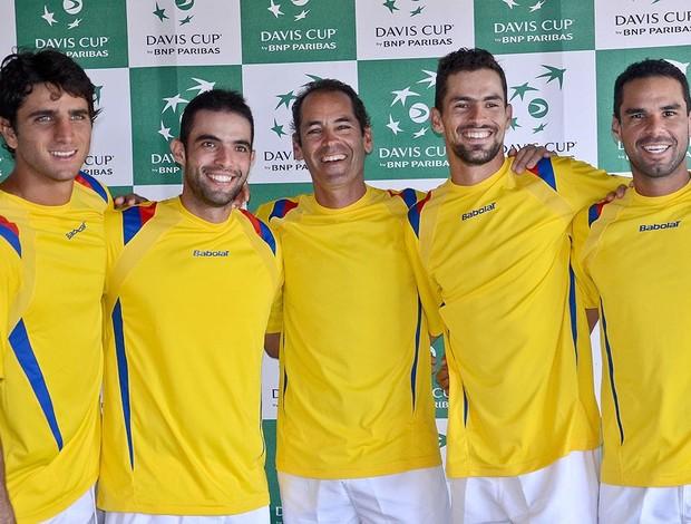 Colombia está lista para enfrentar a Japón y clasificar a la Copa Davis