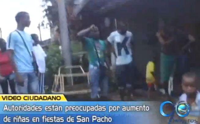 Aumenta la violencia en fiestas de San Pacho en Chocó