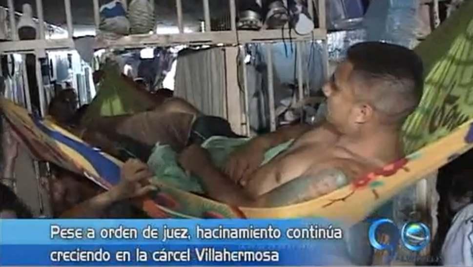 Hacinamiento en la cárcel Villahermosa sigue en aumento