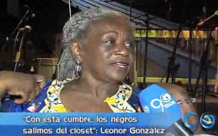 "Lenonor González Mina: ""Con la Cumbre los afro salimos del clóset"""