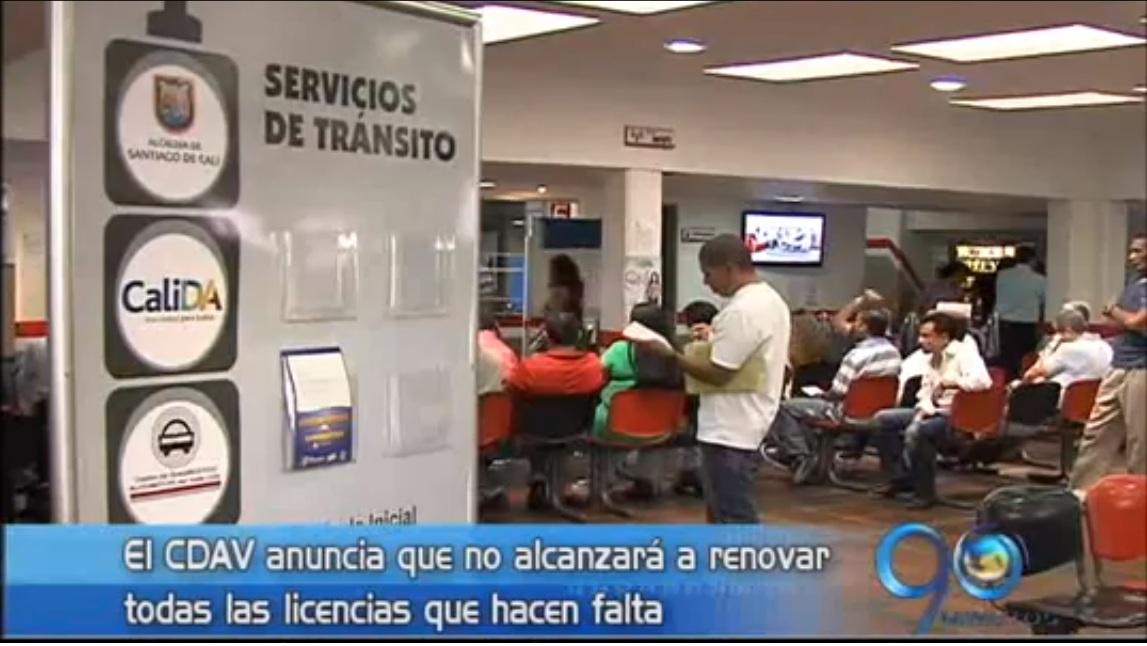 CDAV asegura que plazo para renovar licencias de conducción es insuficiente