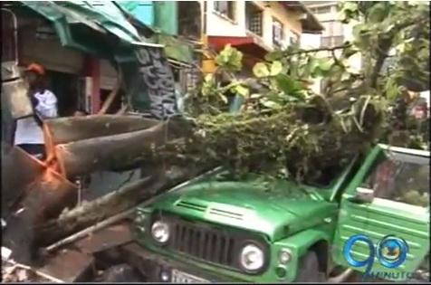Fuertes lluvias causaron destrozos en Quibdó