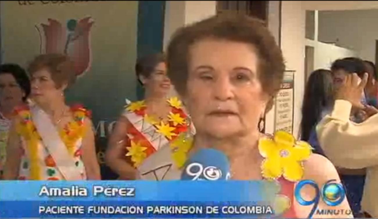 Pacientes con párkinson eligieron a su reina