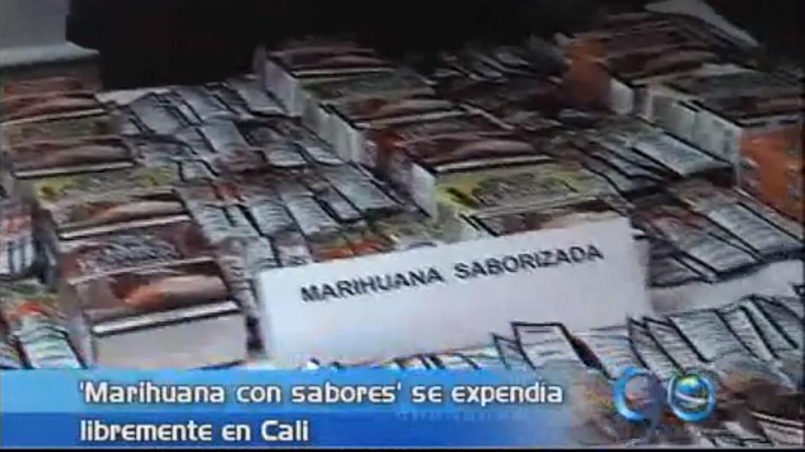 Cayó cargamento de marihuana saborizada en Cali