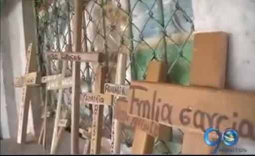 Comunidad de Sabaletas recuerda a víctimas de masacre