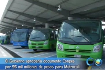 Metrocali recibirá recursos por 95 mil millones de pesos del Gobierno de la Nación