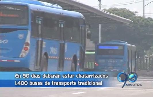 Operadores del MIO tendrán 90 días para chatarrizar buses