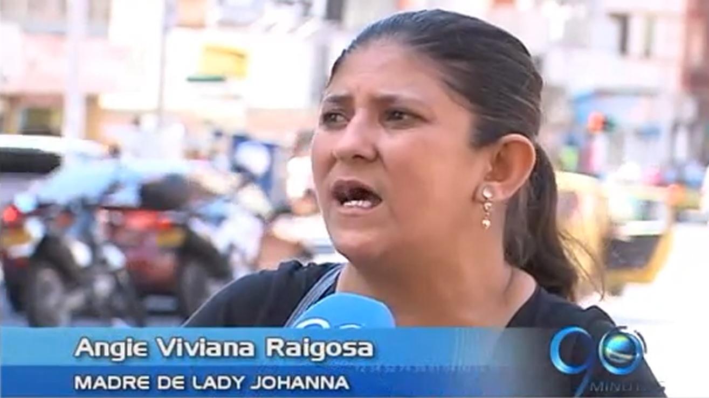 Madre busca en Cali a su hija raptada en el Huila