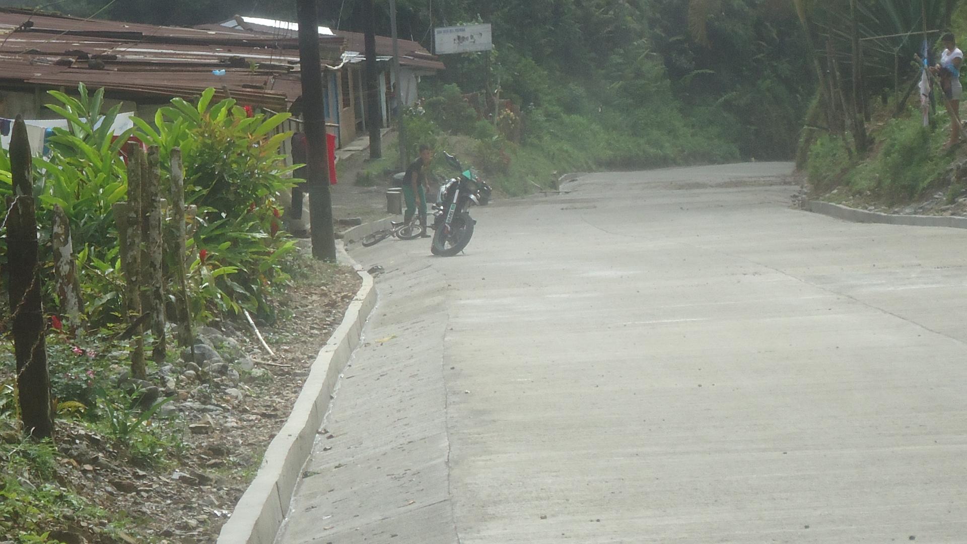 Se inaugurará pavimentación de la vía a San José del Palmar