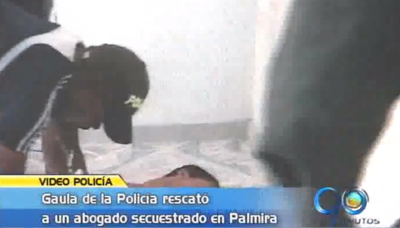 Policía rescata a un abogado secuestrado en Palmira