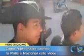 Video de policías tiene indignados a habitantes de Nariño