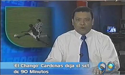 Oscar Luis el 'Chango' Cárdenas se despidió de 90 Minutos
