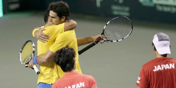 La dupla de caleños Cabal y Farah venció en dobles a Japón