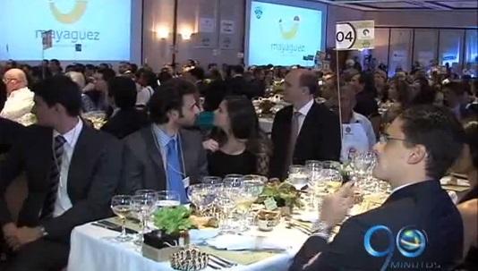 Ministro de Agricultura presente en la Cena Vallenpaz