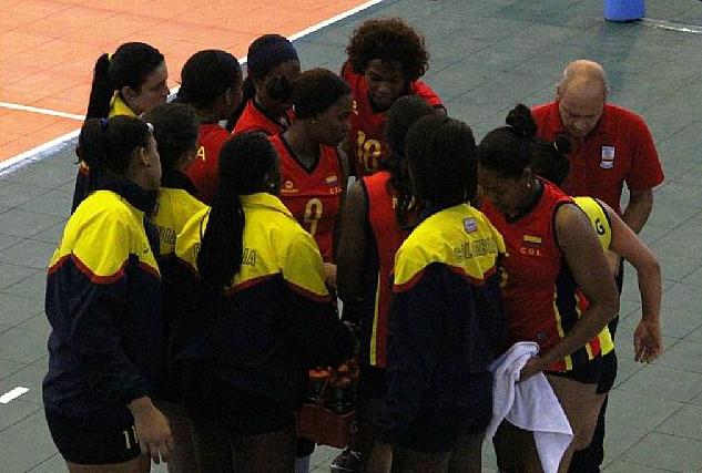 Colombia venció a Chile en suramericano femenino de voleibol