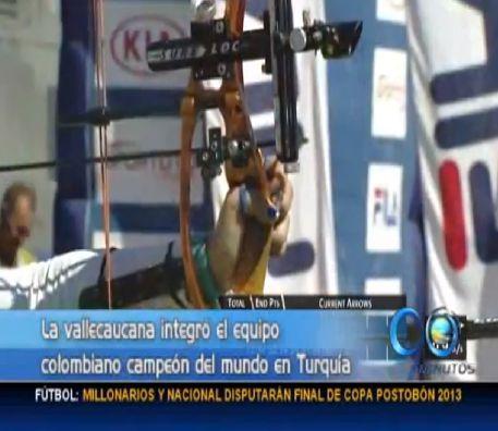 Vallecaucana se coronó campeona mundial por equipos en Tiro con Arco