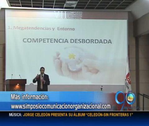 Simposio de comunicación organizacional en la UAO