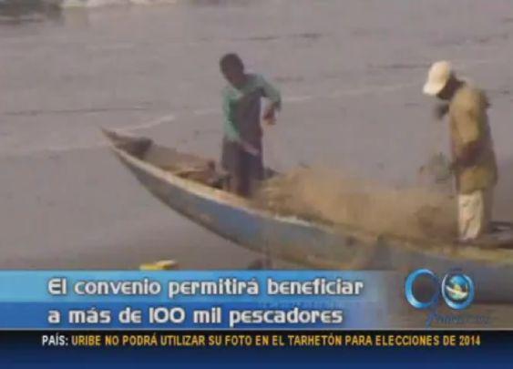 Convenio beneficiará 100 mil pescadores de la costa pacífica