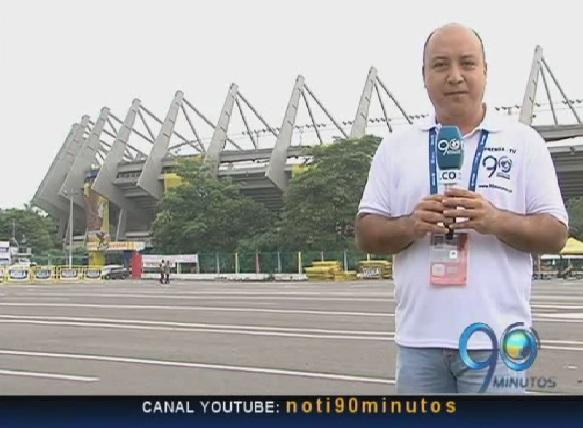 Panorama informativo de la Selección Colombia en Barranquilla