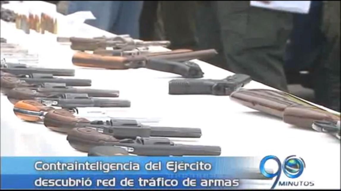 Descubren red de tráfico de armas en la III Brigada