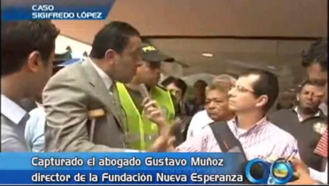 Capturan al director de la Fundación Nueva Esperanza