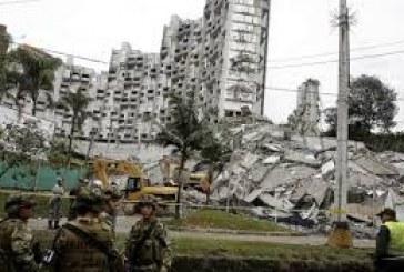 Continua la búsqueda de las 11 personas desaparecidas por desplome del Edificio Space en Medellín.