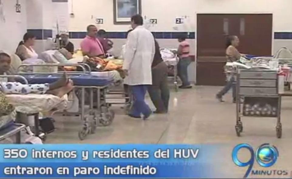 Médicos del HUV entraron a paro indefinido
