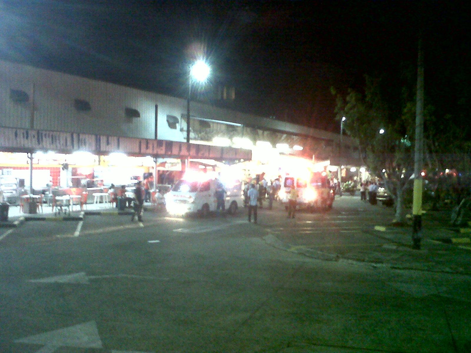 Emergencia en centro comercial en el sur de Cali
