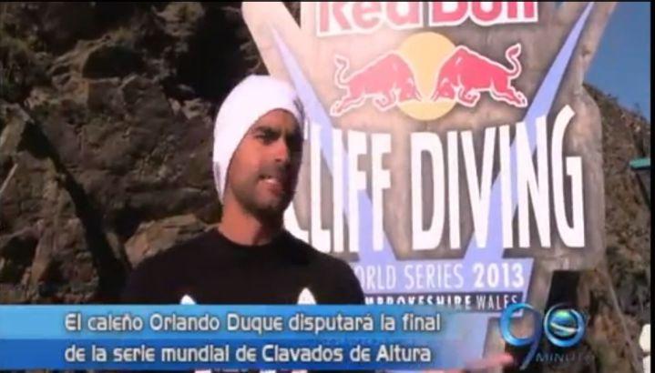 Orlando Duque buscará el título en parada mundial de clavados de altura