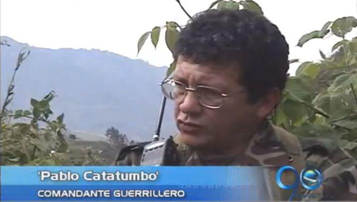 Pablo Catatumbo admitió asesinato en cautiverio de concejal de Palmira