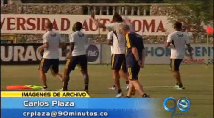 Esta tarde realiza primera práctica la Selección Colombia