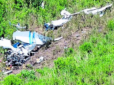 Accidente aéreo en Chocó, deja dos personas heridas y 4 muertos