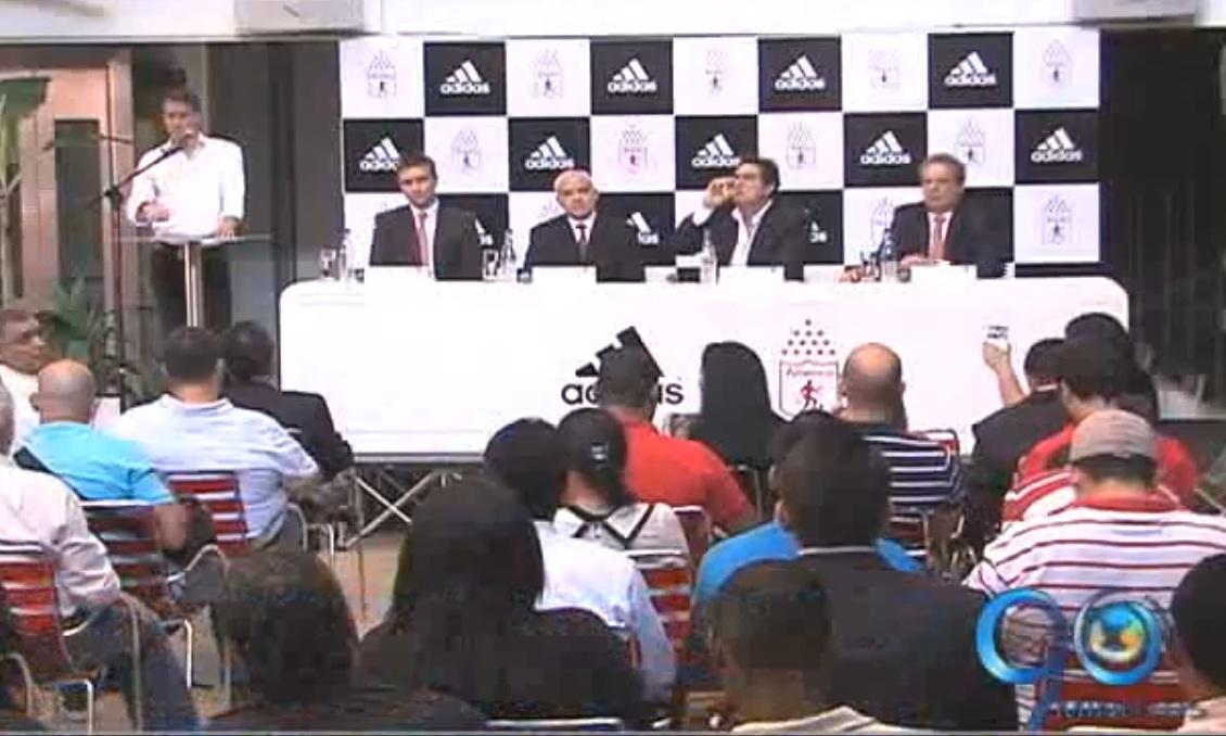La firma deportiva Adidas se vincula al equipo de los 'Diablos Rojos'